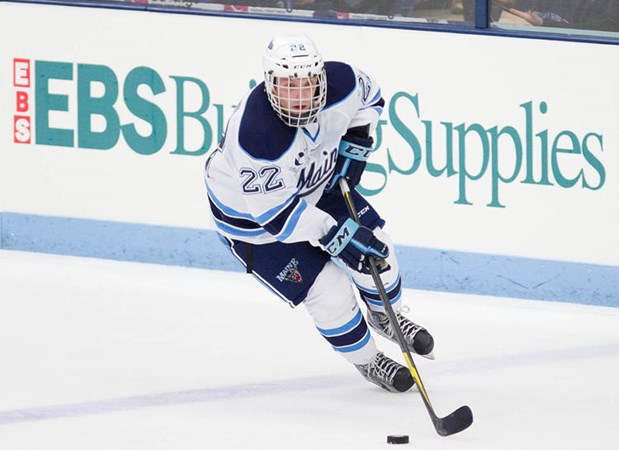 Men s Ice Hockey Hos New Brunswick on Tuesday Night - University of Maine  Athletics 8d4818e13