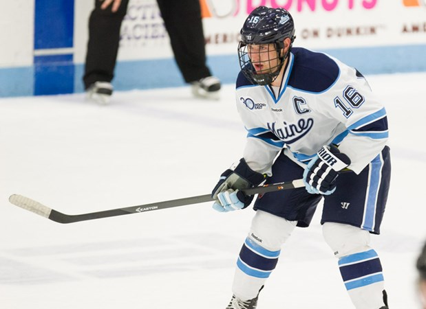 Men s Ice Hockey Host Merrimack in Hockey East Opening Round Game -  University of Maine Athletics 9b38bf81f