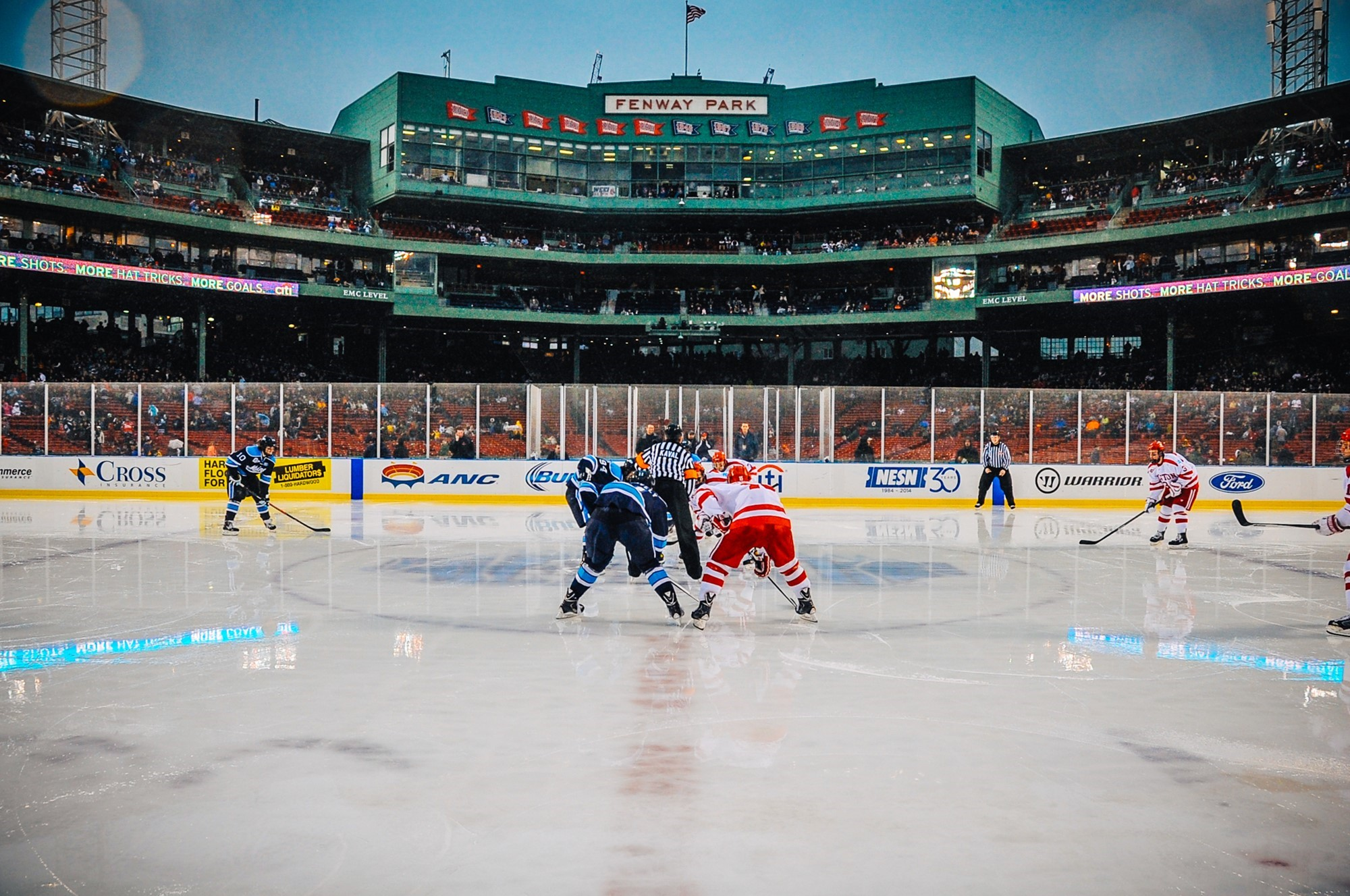 Men S Hockey Game At Historic Fenway Park Moved To Earlier In The Day University Of Maine Athletics