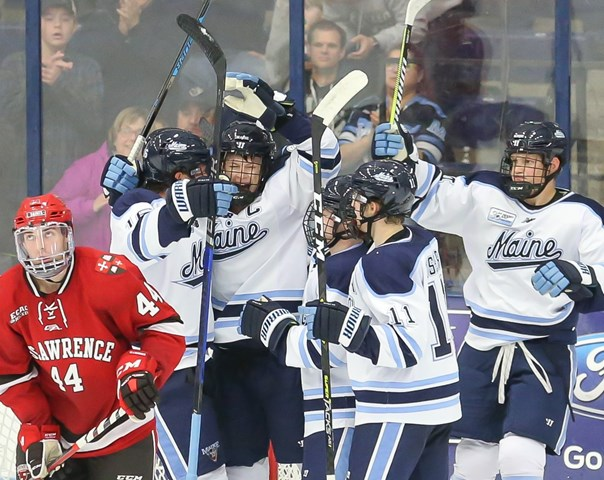 Men's Hockey Receives Votes in USCHO and USA Today Poll - Maine, University of