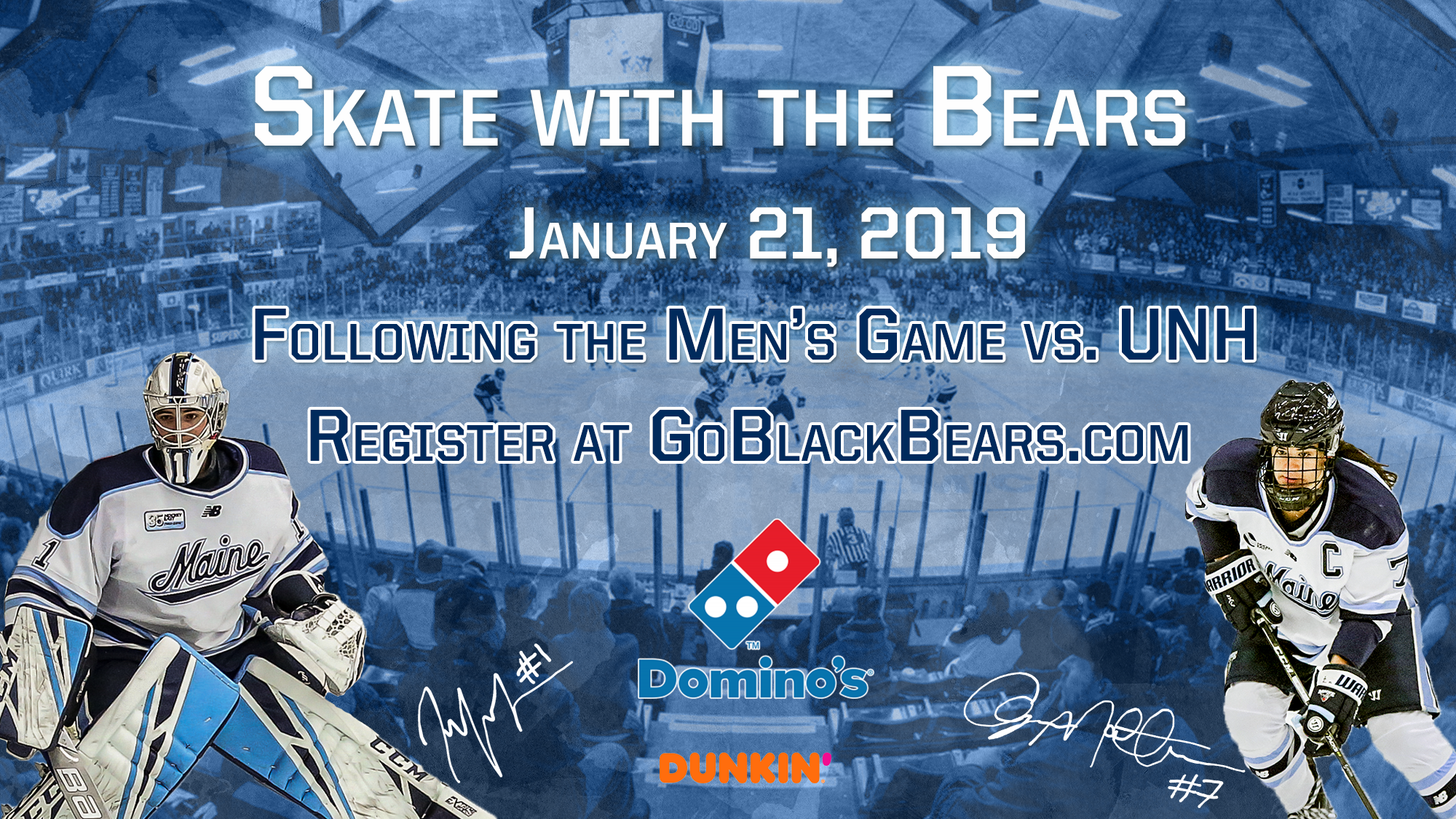 Annual Skate With The Bears Event Set For Jan 21 University Of