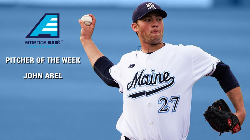 America East Tabs John Arel As Pitcher Of The Week University Maine Athletics