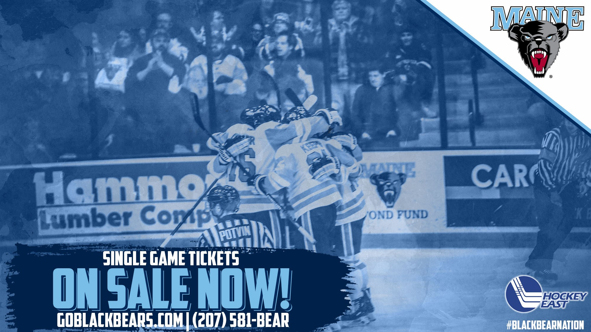 Men's Ice Hockey Single Game Tickets on Sale NOW!
