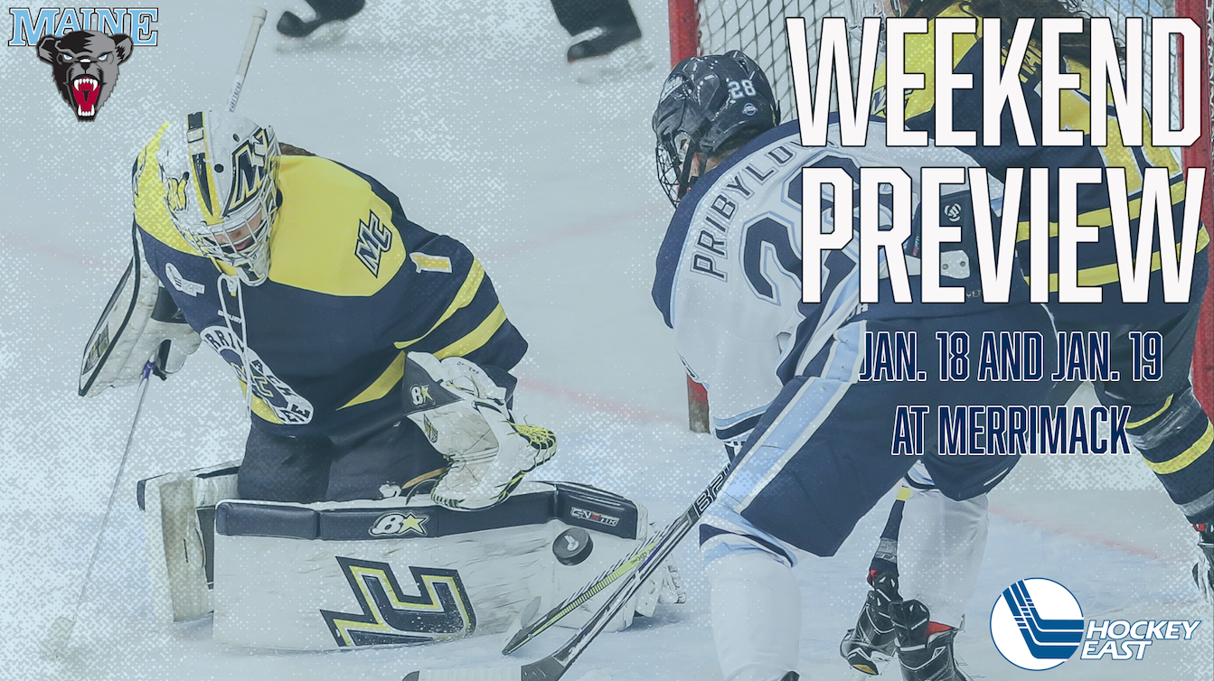 PREVIEW: Women's Hockey Takes on Merrimack for Weekend Set