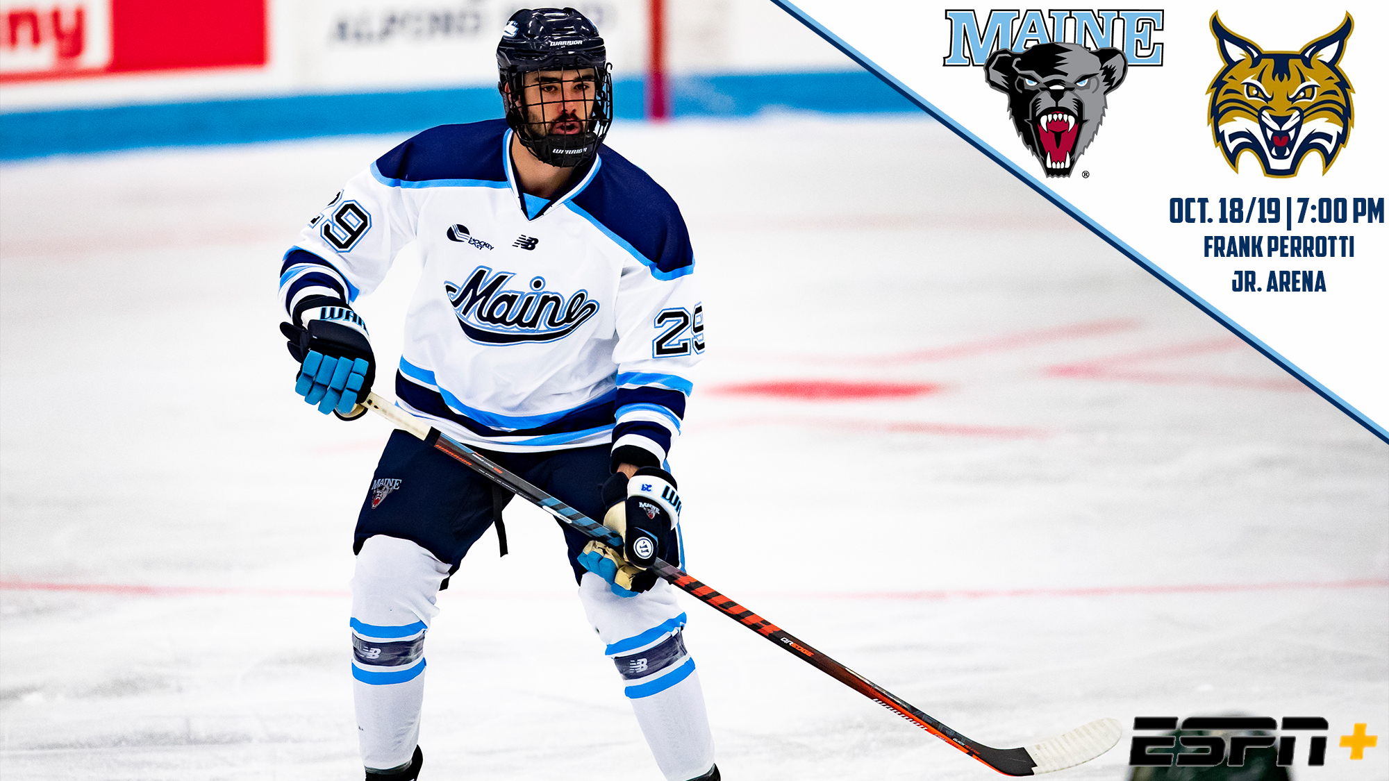 Men's Ice Hockey Set to Travel to #8/#10 Quinnipiac
