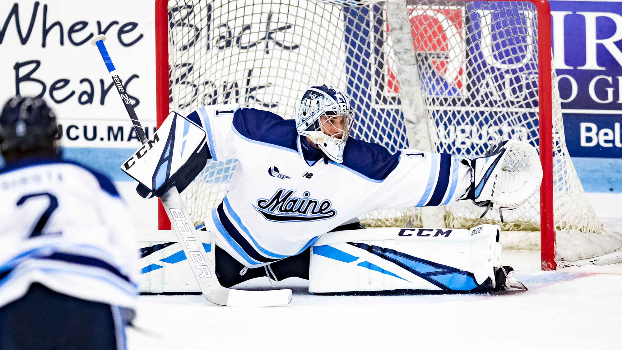 Mitchell Fossier Records Four Points in Maine's 4-2 Win at #8/#10 Quinnipiac