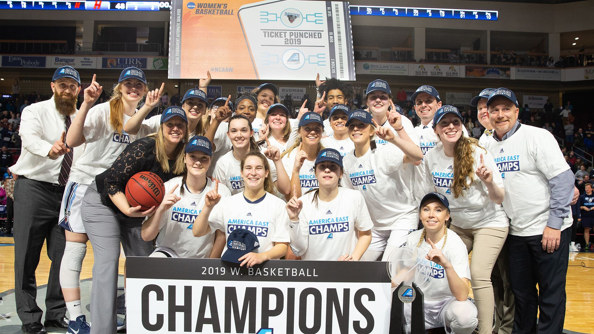 UMaine 2018-19 Top Moments: Back-to-Back Champs!