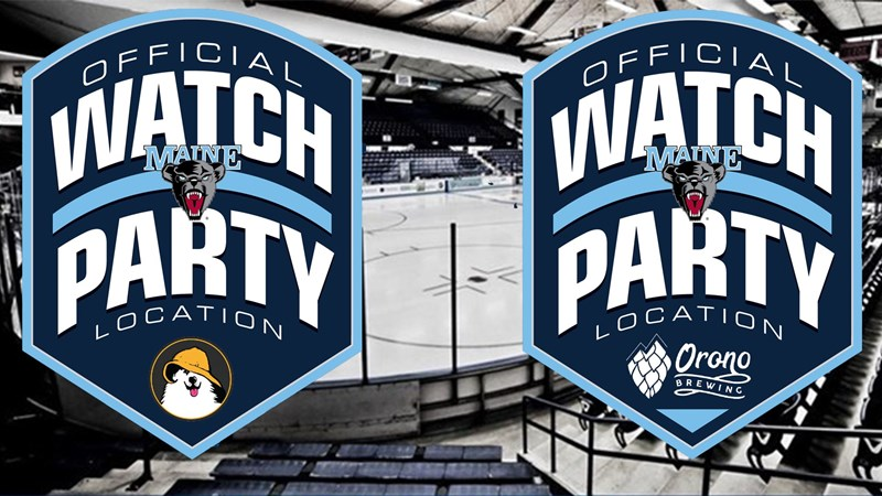 Men's Hockey Official Watch Parties at Orono Brewing Company, Sea Dog Brewing Company, and Buffalo Wild Wings - University of Maine Athletics